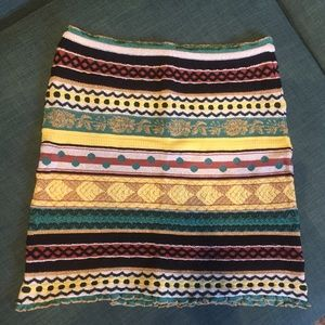 M by Missoni stretch knit mini skirt 6